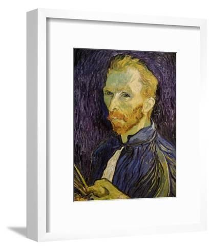 Self-Portrait-Vincent van Gogh-Framed Art Print