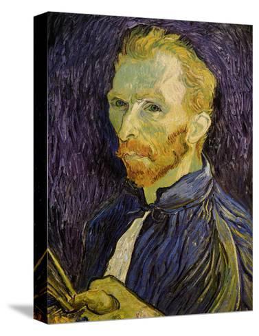 Self-Portrait-Vincent van Gogh-Stretched Canvas Print