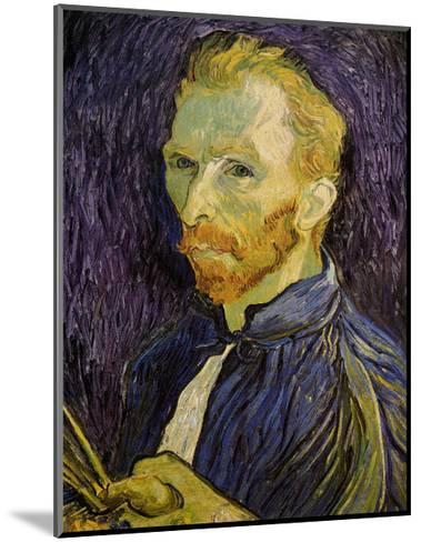 Self-Portrait-Vincent van Gogh-Mounted Art Print