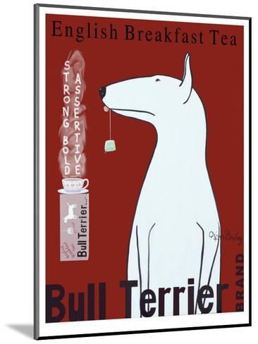 Bull Terrier Tea-Ken Bailey-Mounted Collectable Print