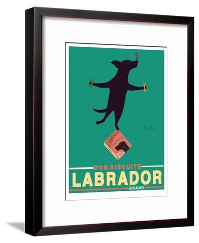 Black Lab Biscuits-Ken Bailey-Framed Art Print