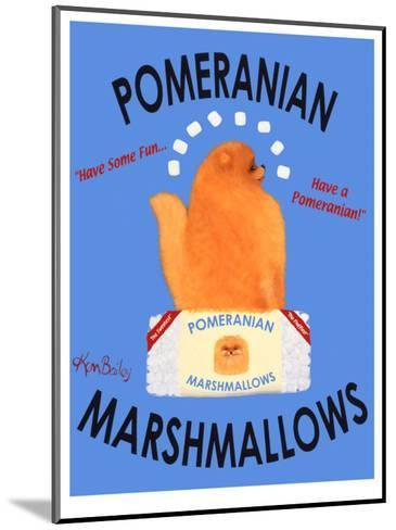 Pomeranian Marshmallows-Ken Bailey-Mounted Collectable Print