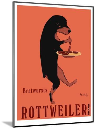 Rottweiler Brand-Ken Bailey-Mounted Collectable Print