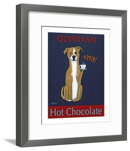 Quintano Hot Chocolate-Ken Bailey-Framed Art Print
