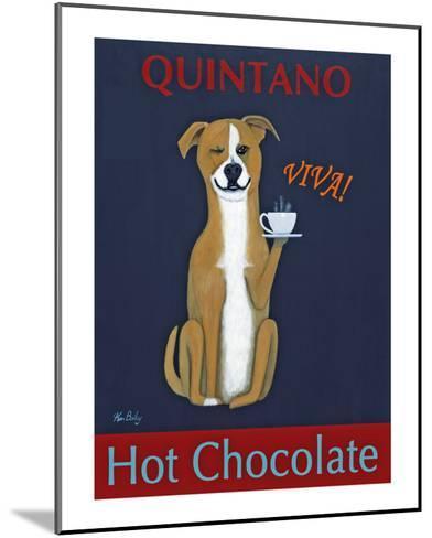 Quintano Hot Chocolate-Ken Bailey-Mounted Collectable Print