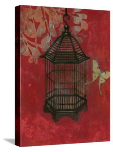 Asian Bird Cage II-Norman Wyatt Jr^-Stretched Canvas Print