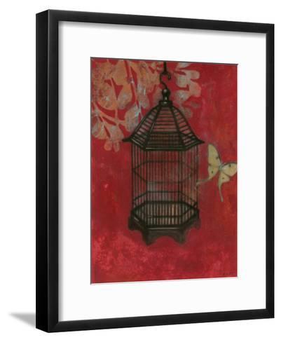 Asian Bird Cage II-Norman Wyatt Jr^-Framed Art Print