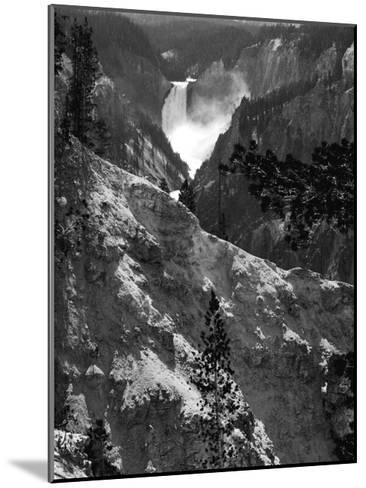 Mountain Waterfall I-Edward C^ Morris-Mounted Art Print
