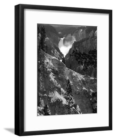 Mountain Waterfall I-Edward C^ Morris-Framed Art Print