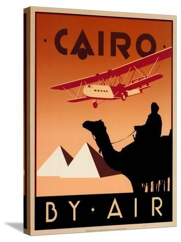 Cairo by Air-Brian James-Stretched Canvas Print