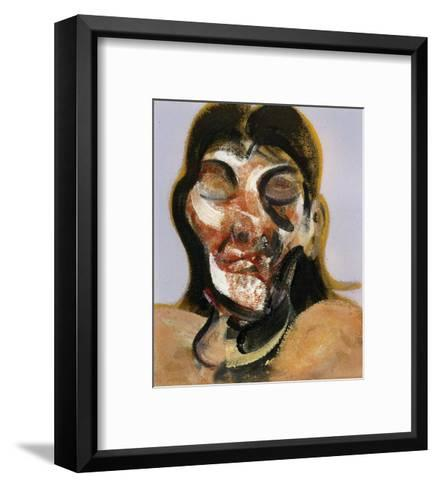 Study of Henrietta Moraes, c.1969-Francis Bacon-Framed Art Print