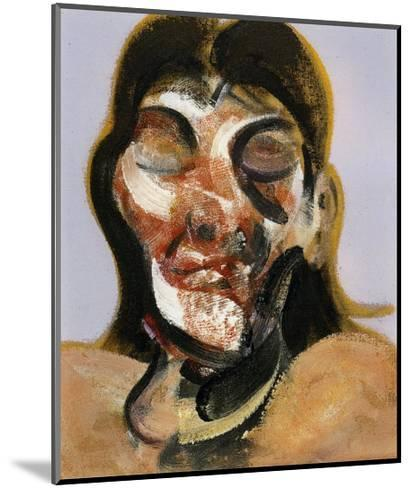Study of Henrietta Moraes, c.1969-Francis Bacon-Mounted Art Print