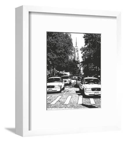 New York Minute I-Boyce Watt-Framed Art Print
