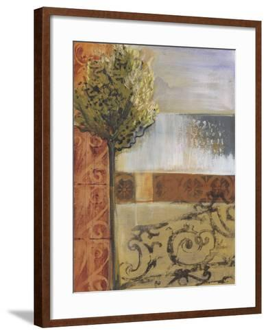 Beyond the Gate-Leslie Bernsen-Framed Art Print