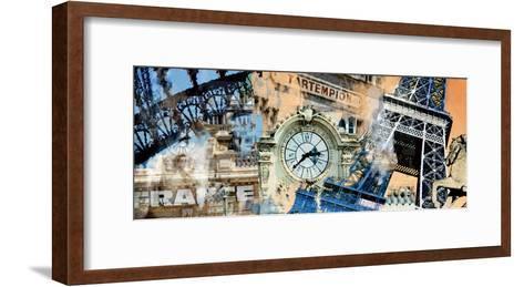 Bon Eiffel-Diane McIntosh-Framed Art Print