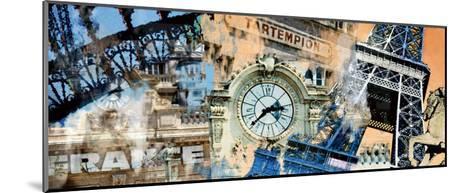 Bon Eiffel-Diane McIntosh-Mounted Art Print