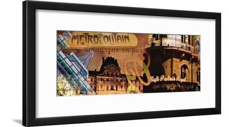 Cafe Royal-Diane McIntosh-Framed Art Print