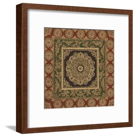 Medallion III-Paula Scaletta-Framed Art Print