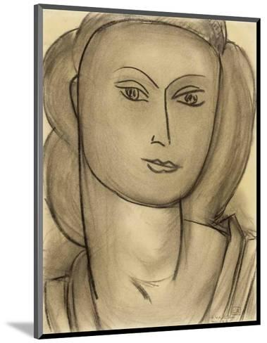 Madame Lucienne Bernard, c.1946-Henri Matisse-Mounted Art Print