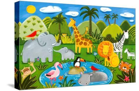 Jungle Fun-Sophie Harding-Stretched Canvas Print