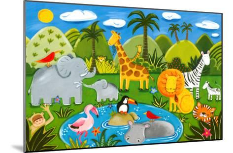 Jungle Fun-Sophie Harding-Mounted Art Print