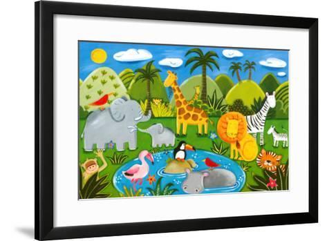 Jungle Fun-Sophie Harding-Framed Art Print