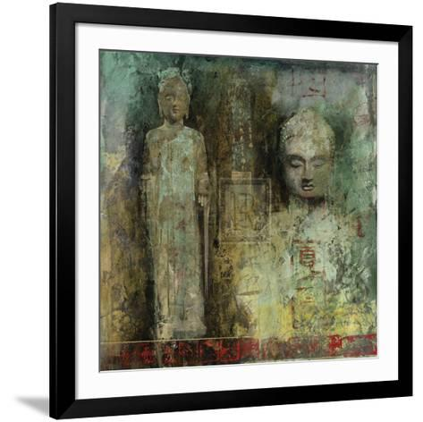 Meditation Gesture II-Santiago-Framed Art Print