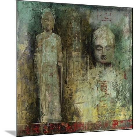 Meditation Gesture II-Santiago-Mounted Art Print