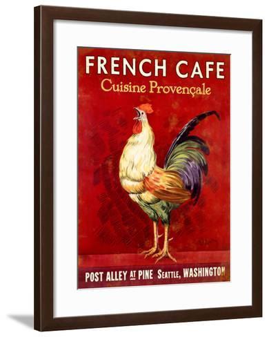 French Cafe, Seattle, Washington--Framed Art Print