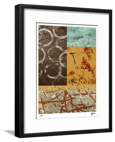 Squares and Circles I-Mj Lew-Framed Art Print