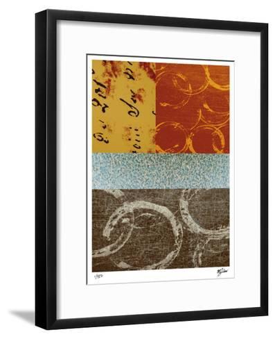 Squares and Circles II-Mj Lew-Framed Art Print
