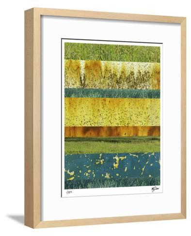 Abstraction in Nature II-Mj Lew-Framed Art Print