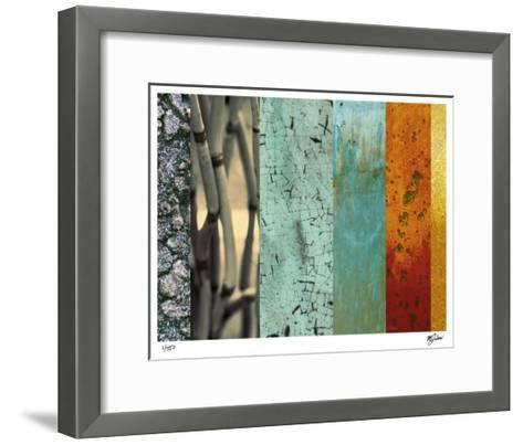Bamboo & Lilies I-Mj Lew-Framed Art Print