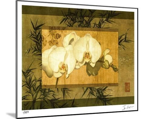 Bamboo & Orchids II-Ives Mccoll-Mounted Giclee Print