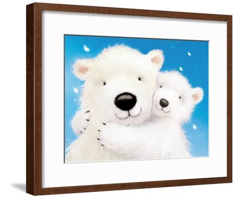 Fluffy Bears IV-Alison Edgson-Framed Art Print