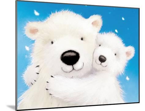 Fluffy Bears IV-Alison Edgson-Mounted Art Print