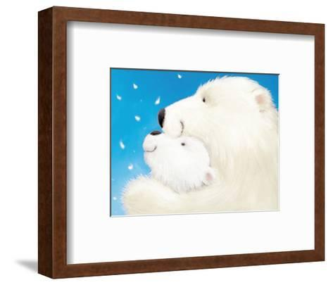 Fluffy Bears III-Alison Edgson-Framed Art Print