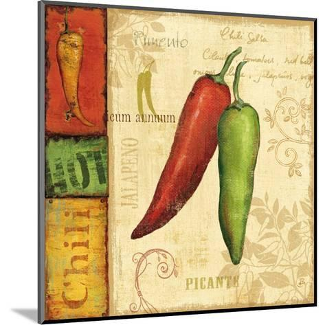 Hot and Spicy I-Daphne Brissonnet-Mounted Art Print