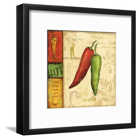 Hot and Spicy I-Daphne Brissonnet-Framed Art Print