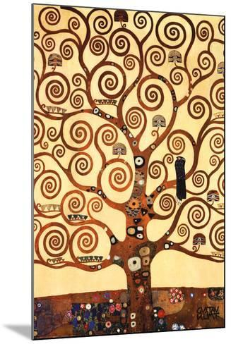 The Tree of Life, Stoclet Frieze, c.1909-Gustav Klimt-Mounted Art Print