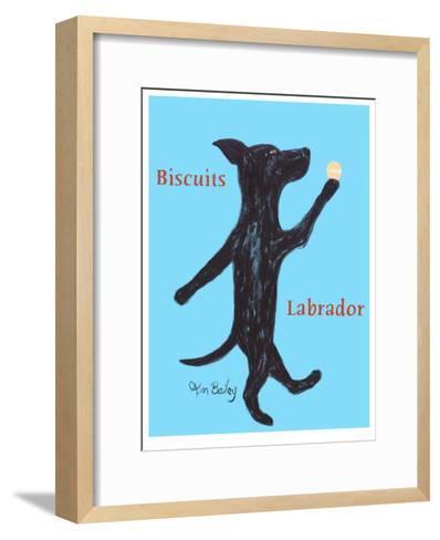 Biscuits Labrador-Ken Bailey-Framed Art Print