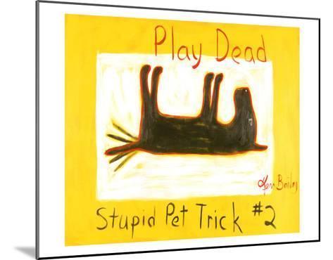 Play Dead #2-Ken Bailey-Mounted Collectable Print