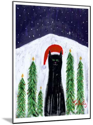 Santa Cat-Ken Bailey-Mounted Collectable Print