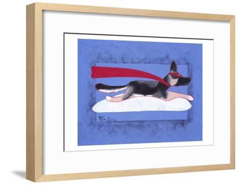 Super Shepherd-Ken Bailey-Framed Art Print