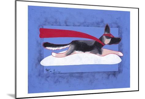 Super Shepherd-Ken Bailey-Mounted Collectable Print