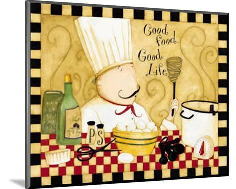 Good Food, Good Life-Dan Dipaolo-Mounted Art Print