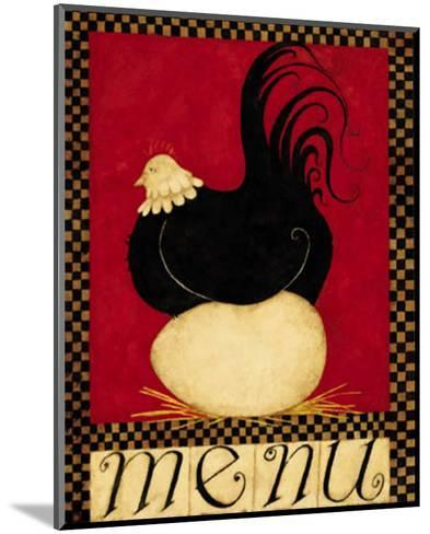 Menu II-Dan Dipaolo-Mounted Art Print