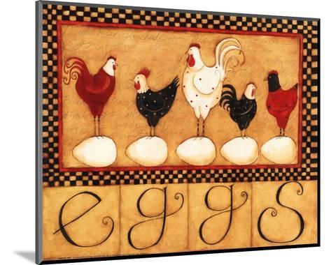 Eggs in a Row-Dan Dipaolo-Mounted Art Print