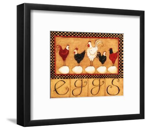 Eggs in a Row-Dan Dipaolo-Framed Art Print