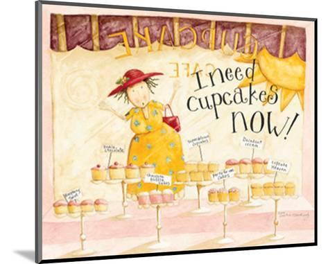 I Need Cupcakes-Dan Dipaolo-Mounted Art Print